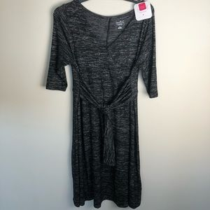 NWT Isabel Maternity V-Neck Soft Dress XL J840